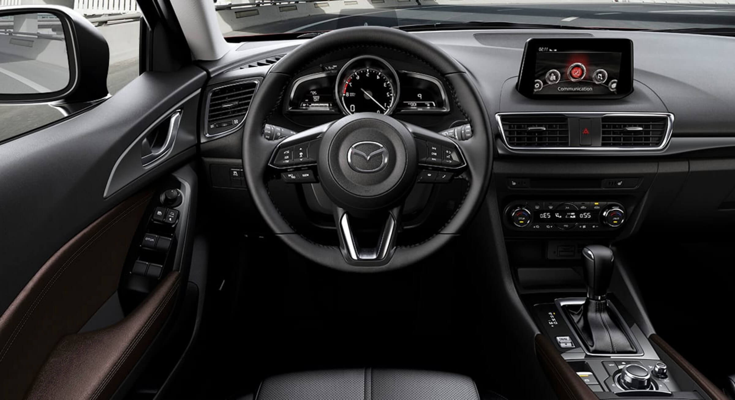 Allnewmazda3-Black Leather