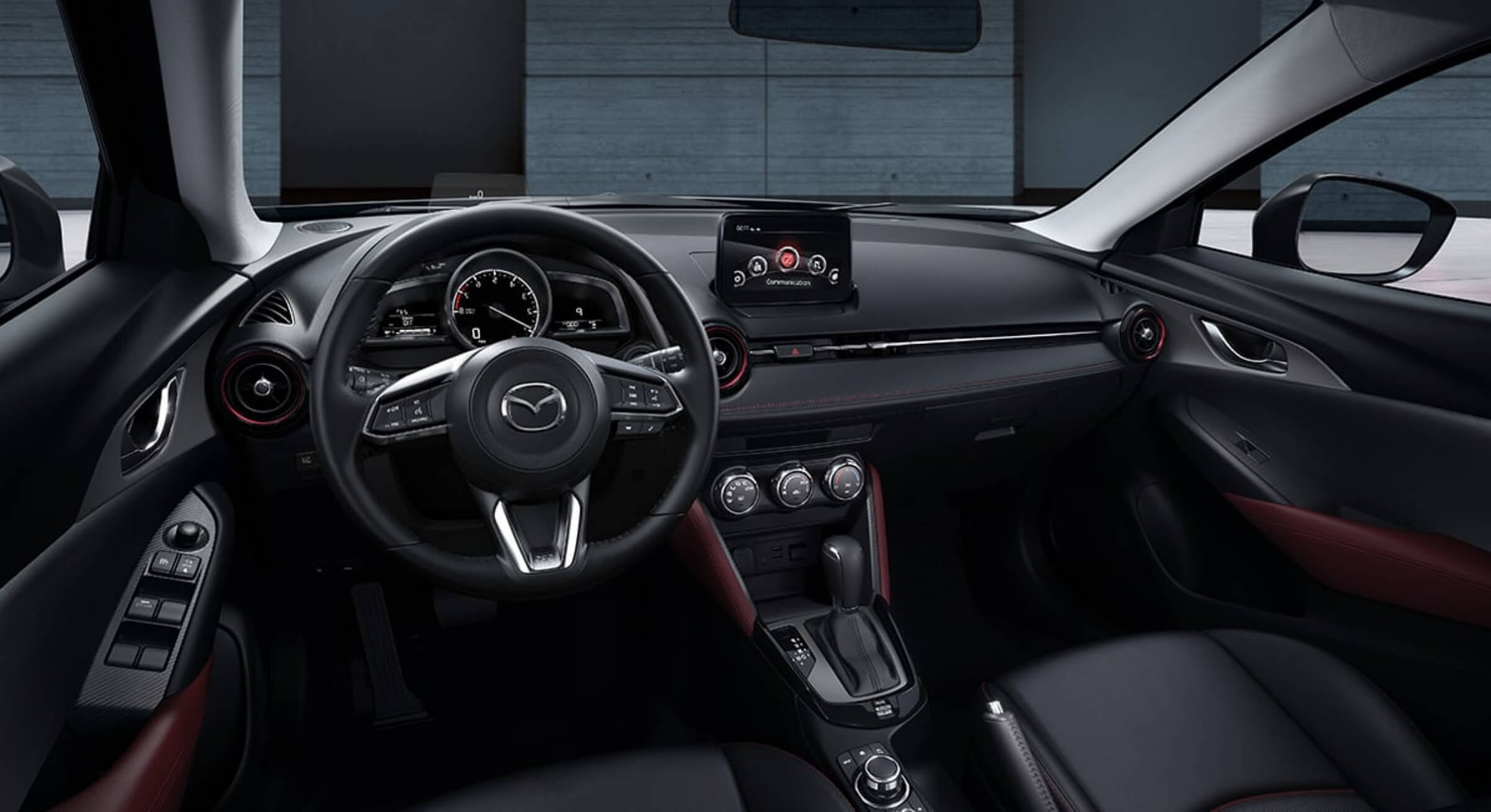 Mazdacx3-Black Leatherette