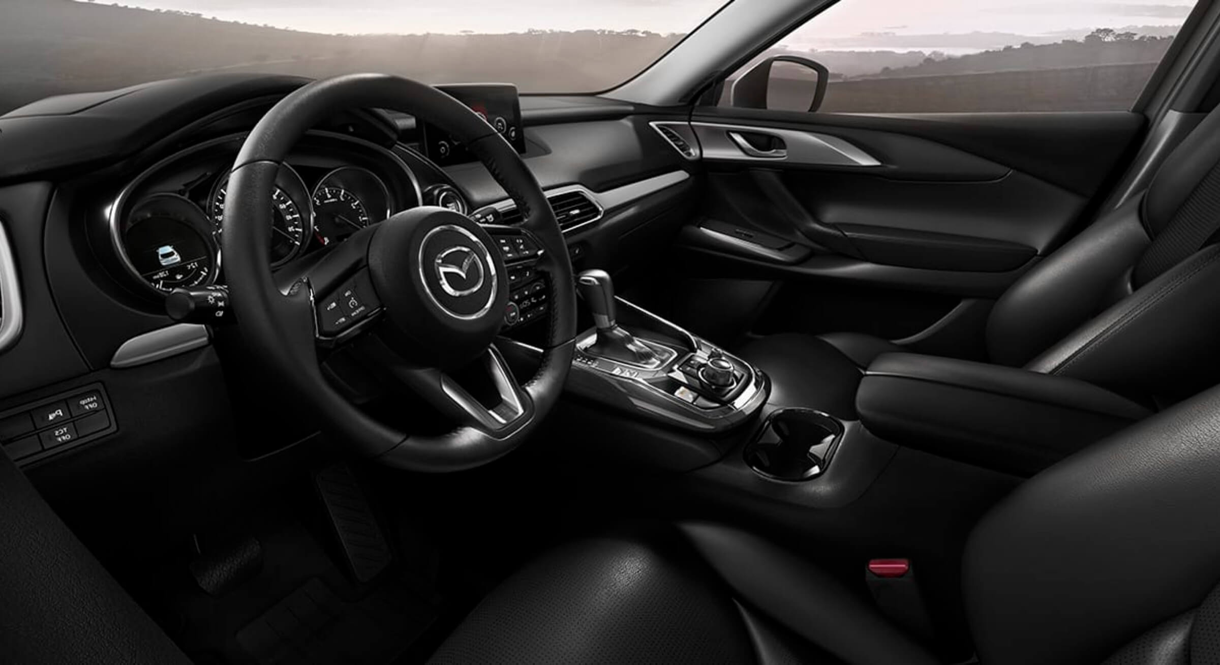 Mazdacx9-Black Leatherette