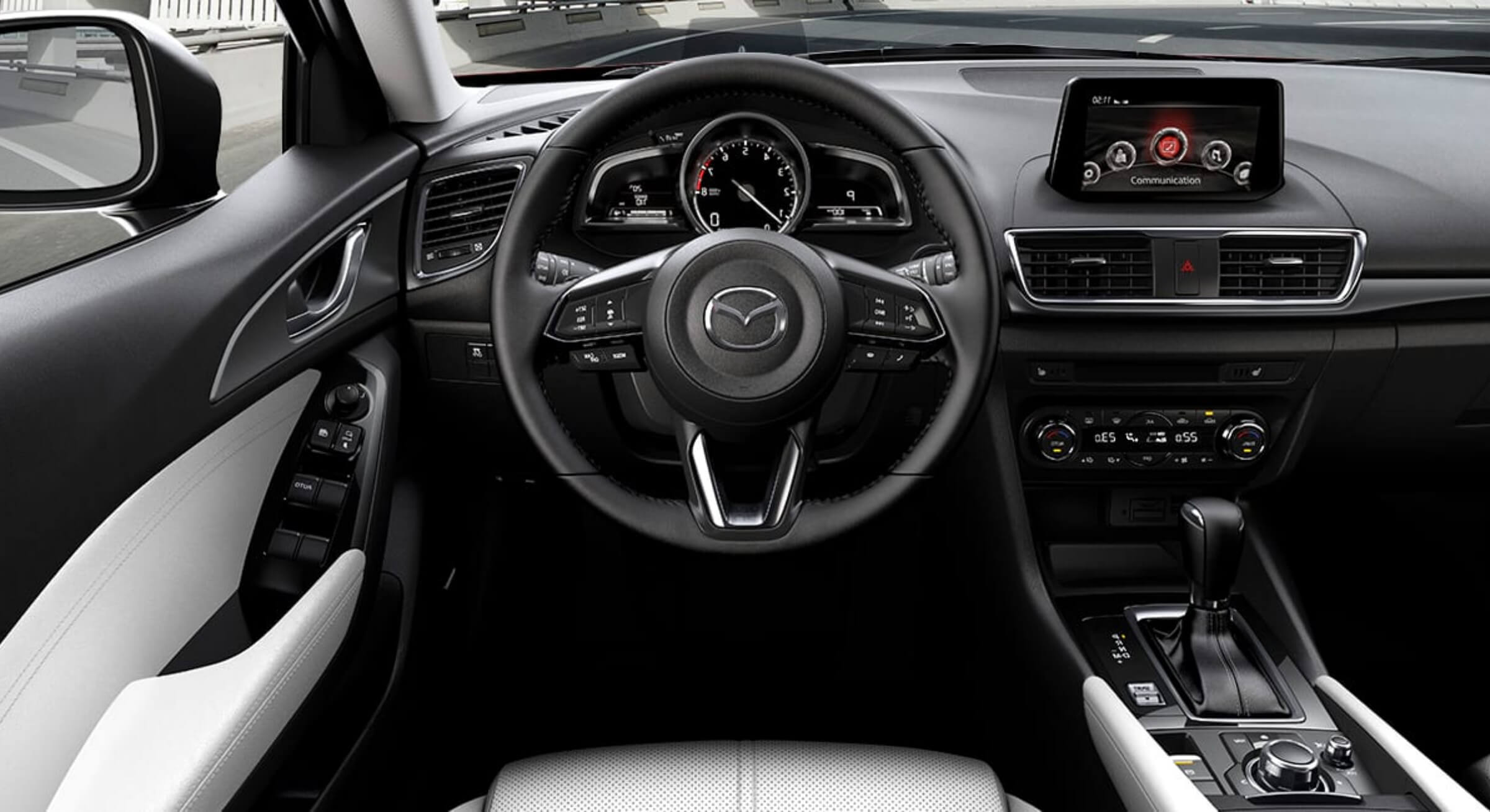Allnewmazda3-Pure White Leather