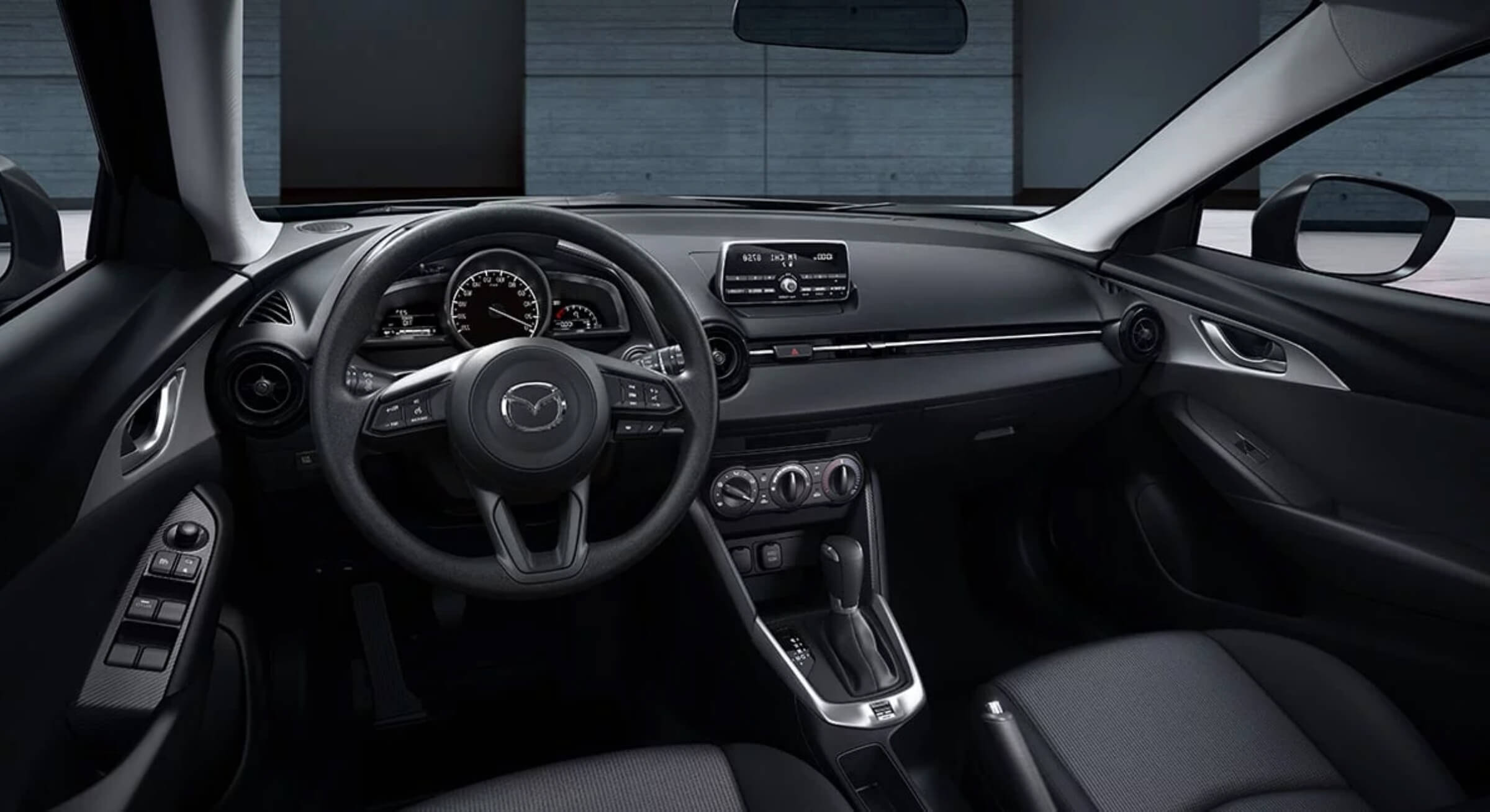 Mazdacx3-Black Leather