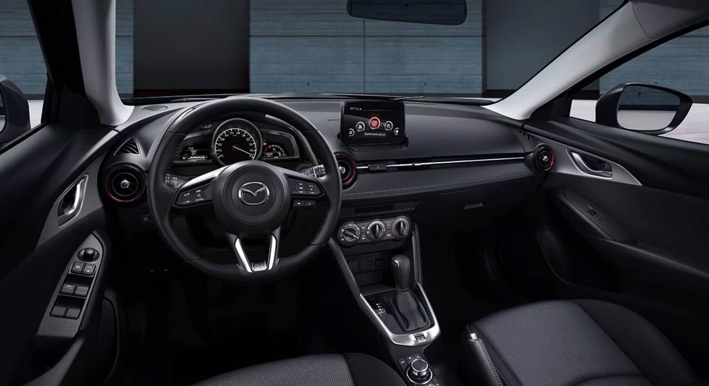 Mazdacx3-Black Cloth